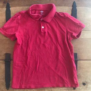 Old Navy Boys Red Uniform Polo Shirt